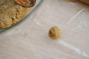 spelt olive oil dough ball