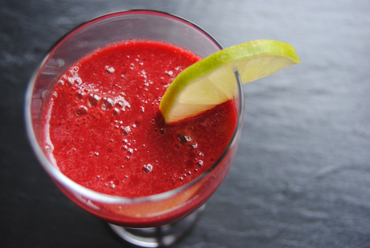 beetroot zinger juice in glass