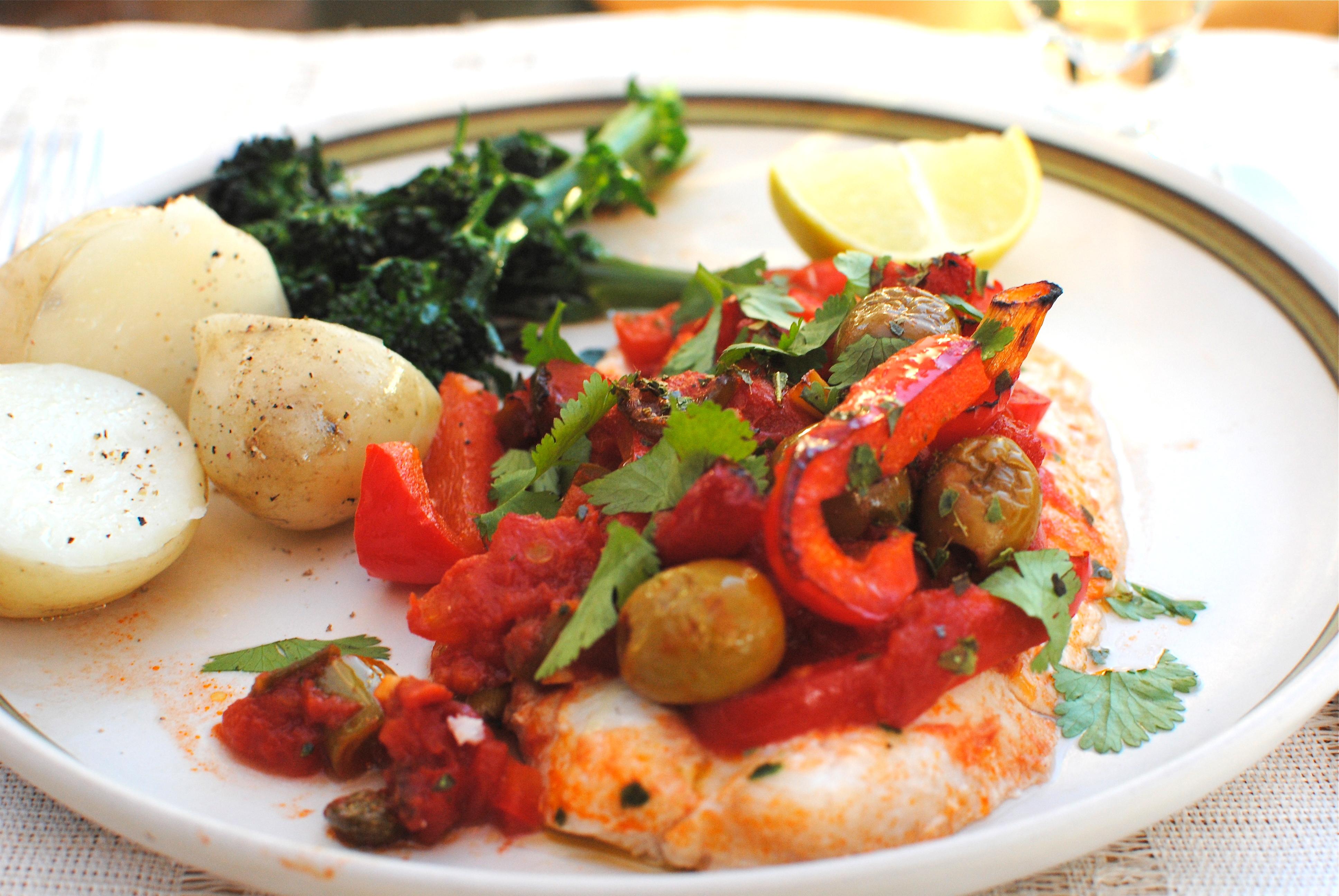 Salmon veracruz recipes food fish recipes for Fish veracruz recipe