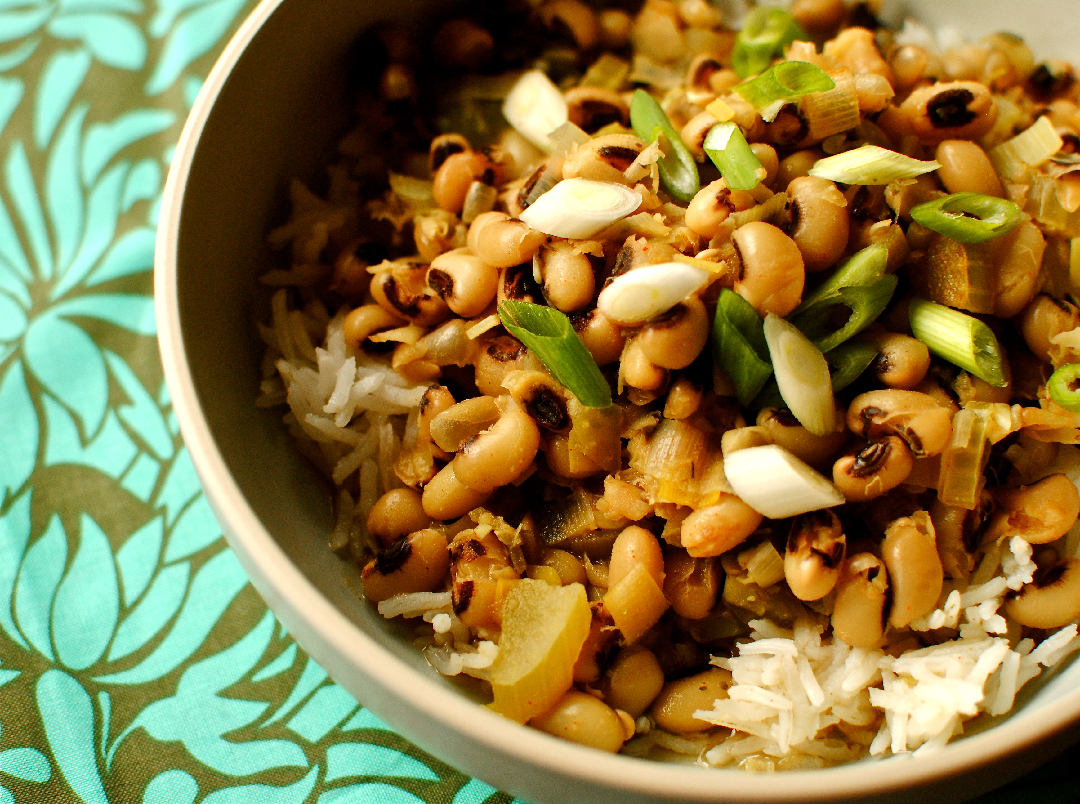 Hoppin' John for New Year's Day Luck Southern-style | food to glow