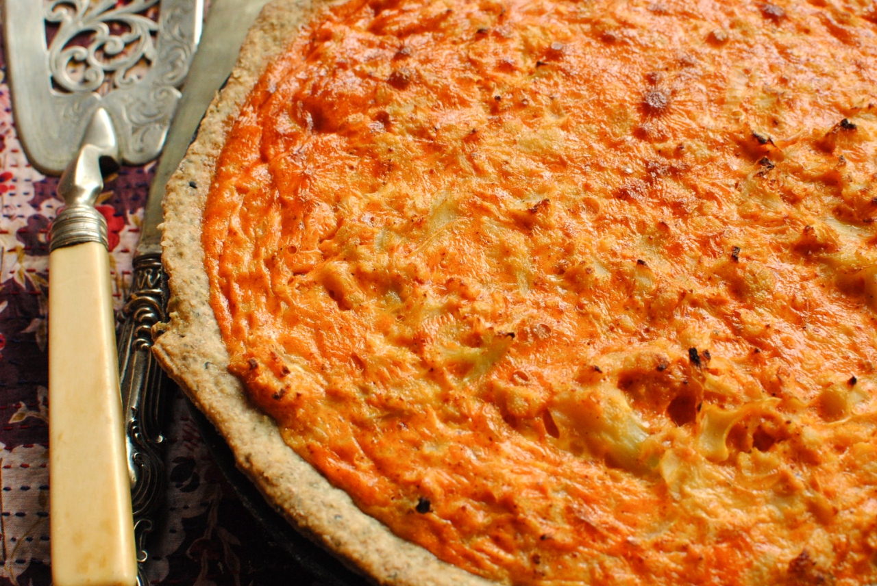 cauliflower tart by foodtoglow