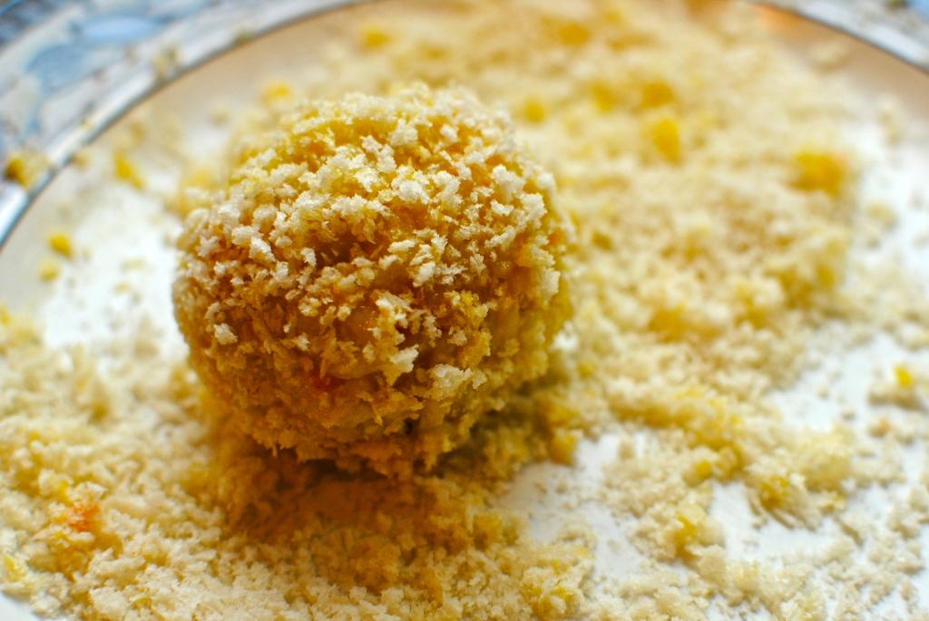 Baked Marinara-stuffed Arancini (Risotto Balls) – low-fat, lemony ...