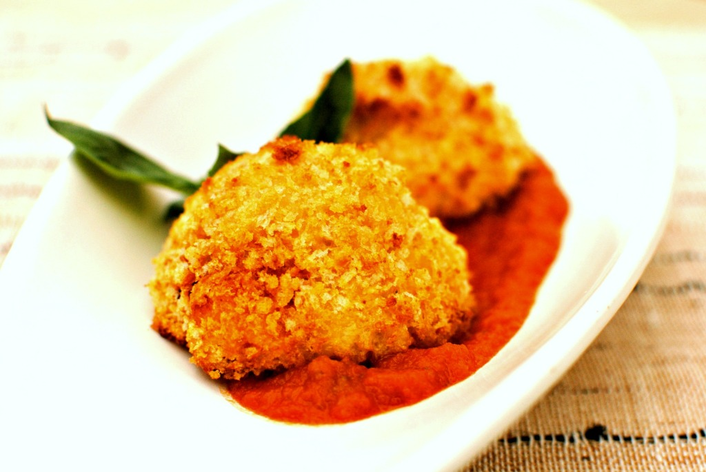 baked arancini by food to glow