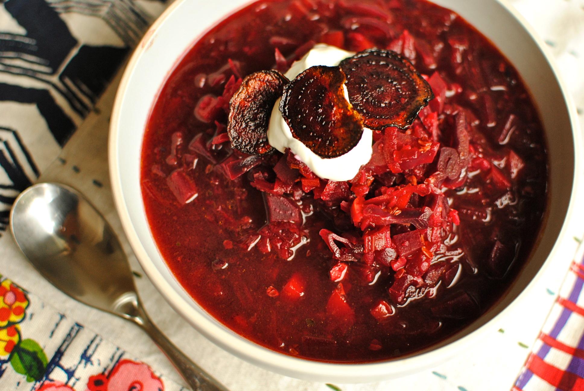 Секрет красного борща рецепт пошагово