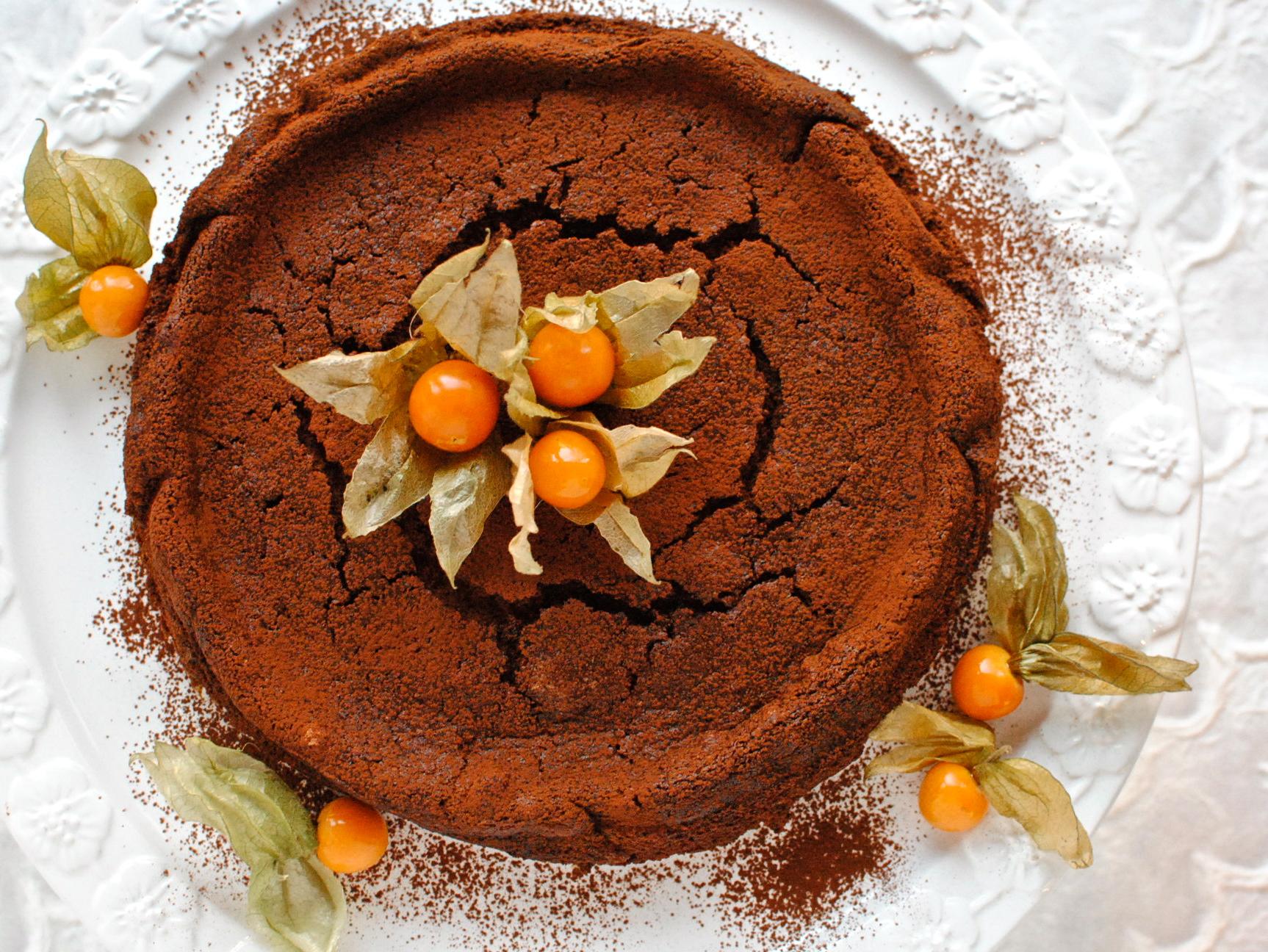 Chocolate Chestnut Truffle Cake Fabulous Festive