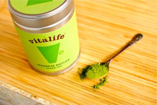 green matcha tea