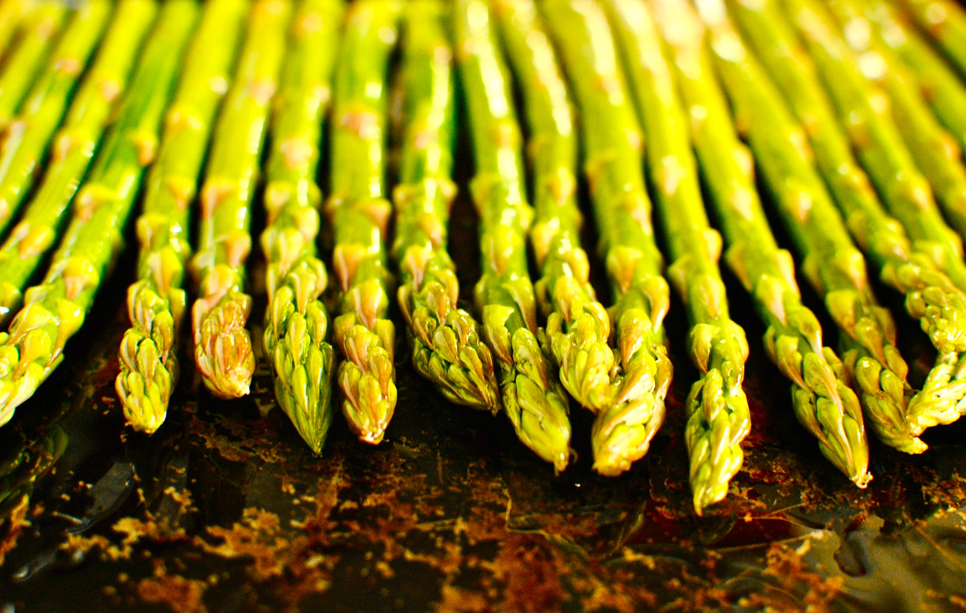 roasted asparagus with miso lime dressing recipes dishmaps miso ...
