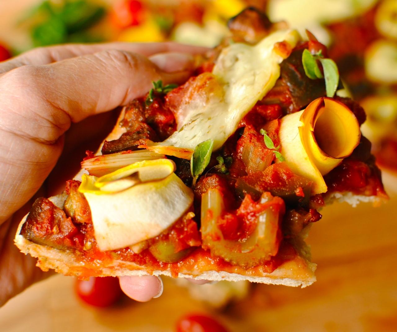 caponata pizza