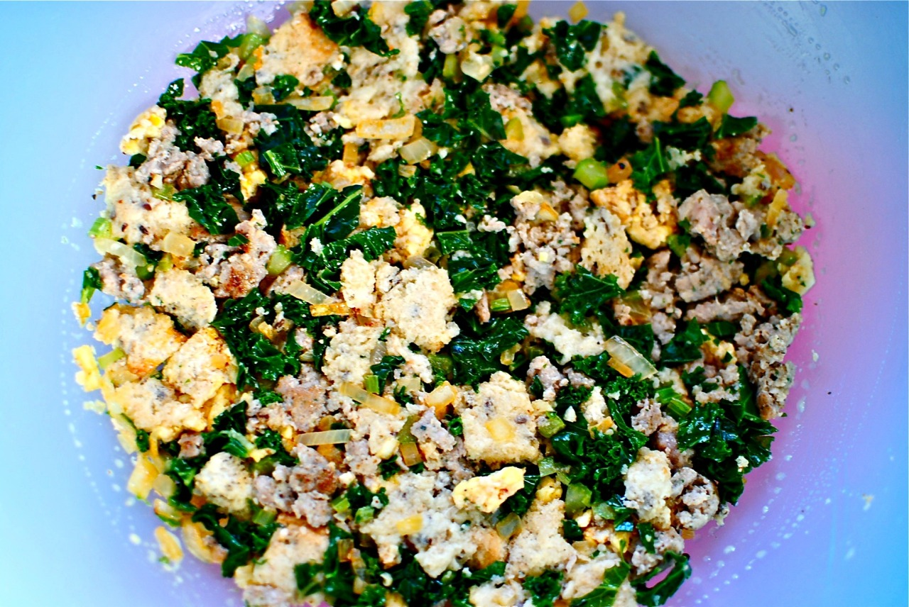 kale-stuffing-mix