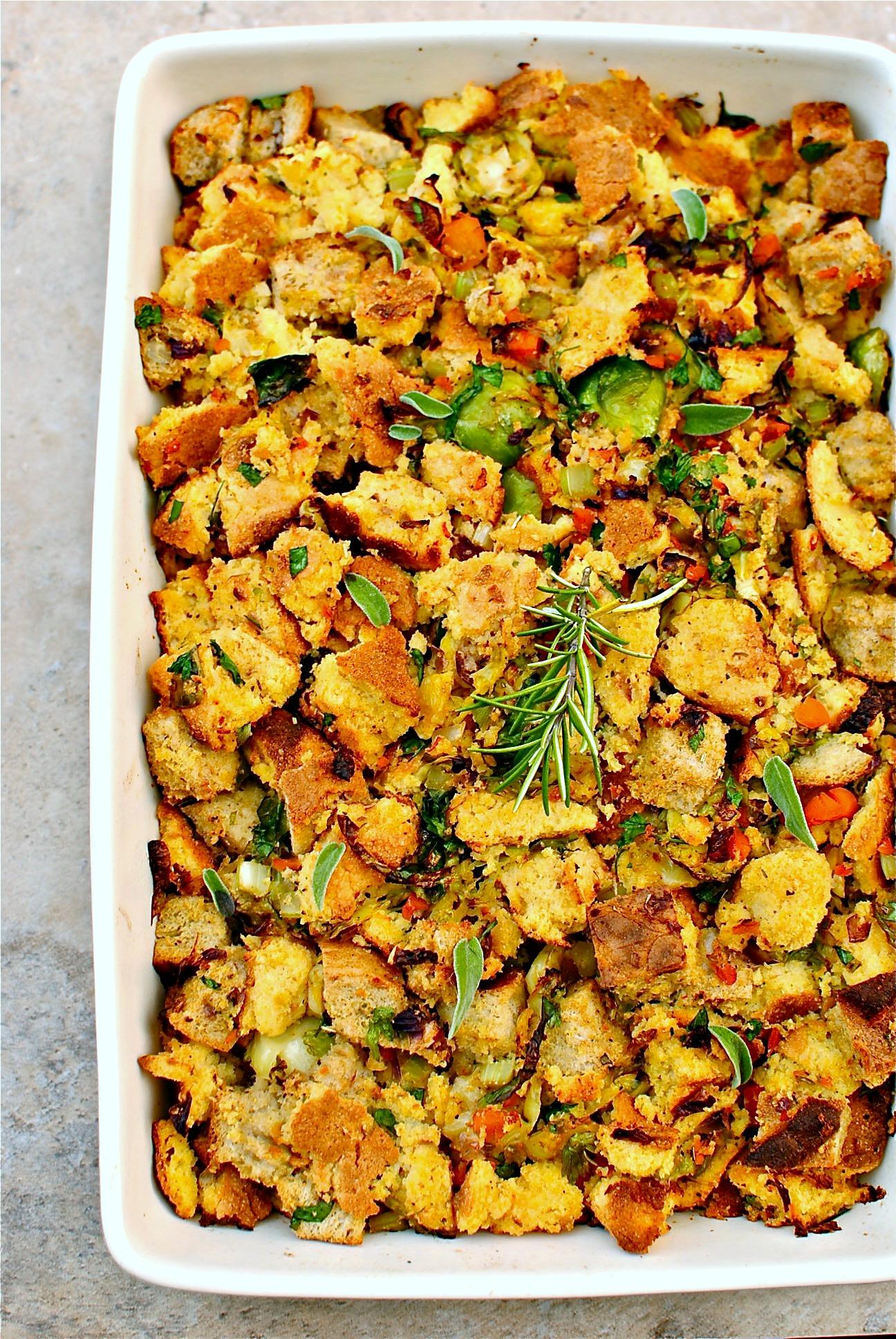 how to make vegetarian stuffing