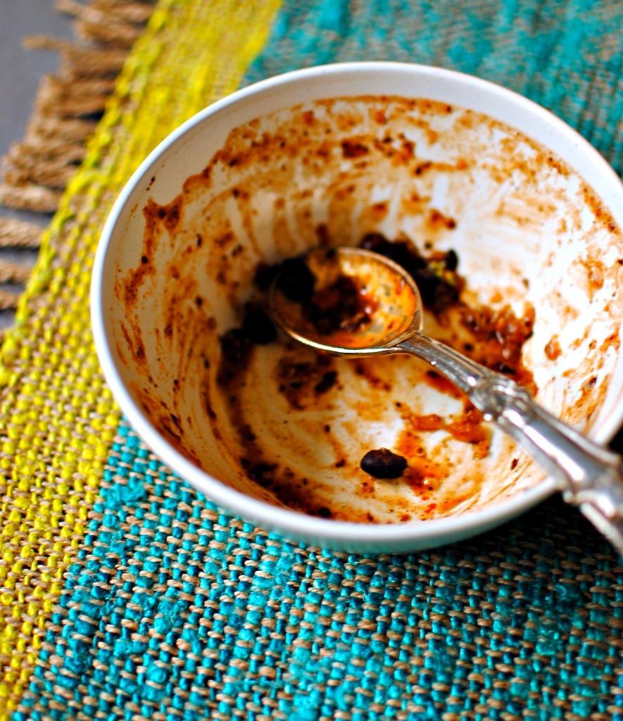 black bean quinoa chill
