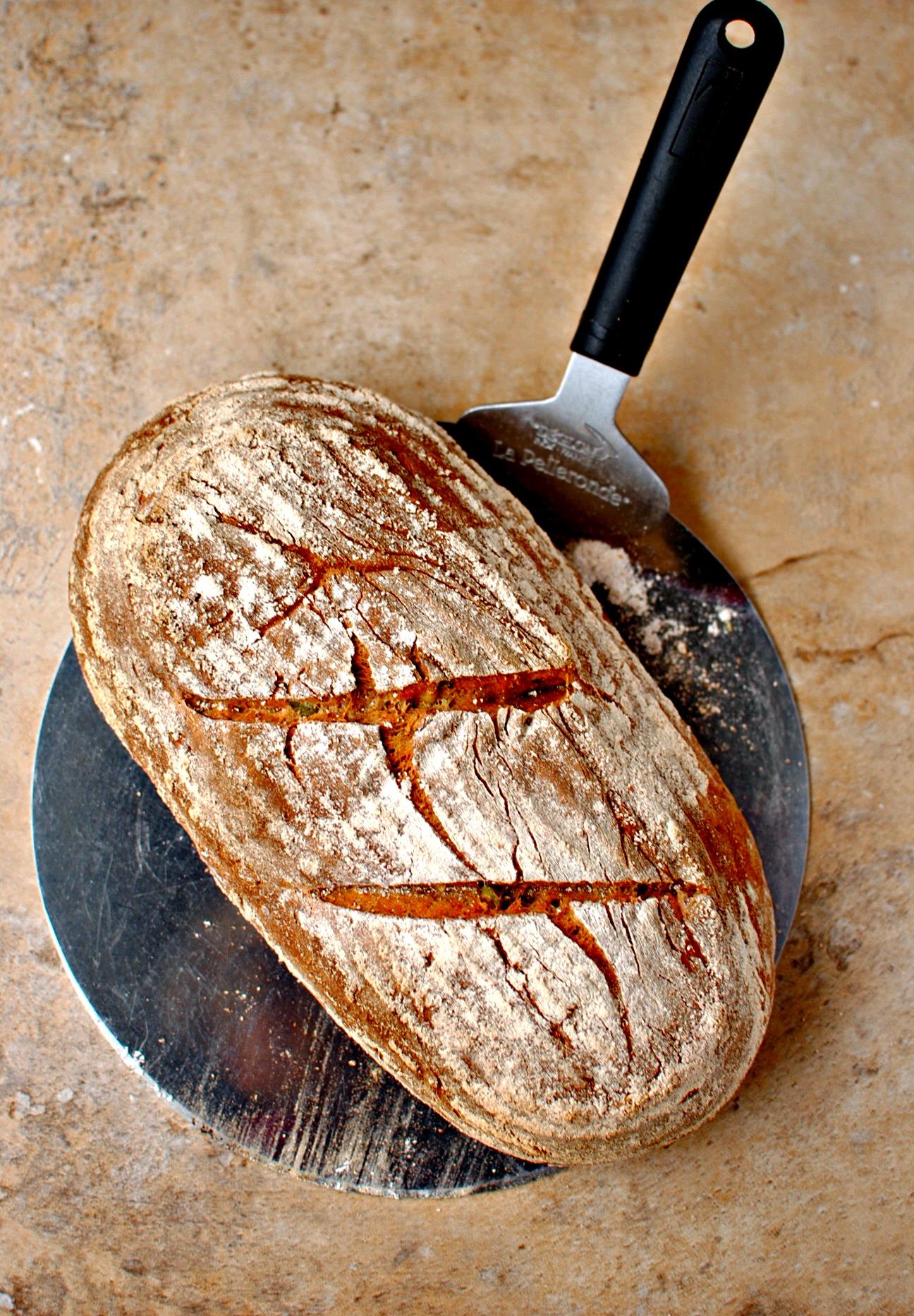 Seven Seed Spelt Bread Food To Glow