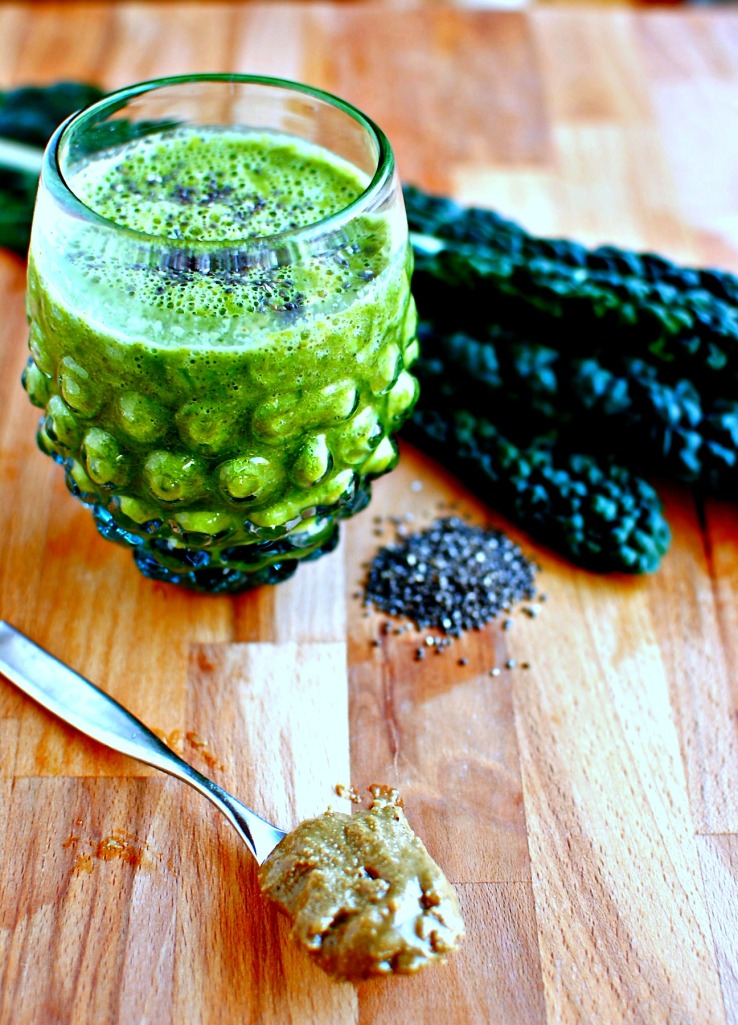 simple kale smoothie green smoothie