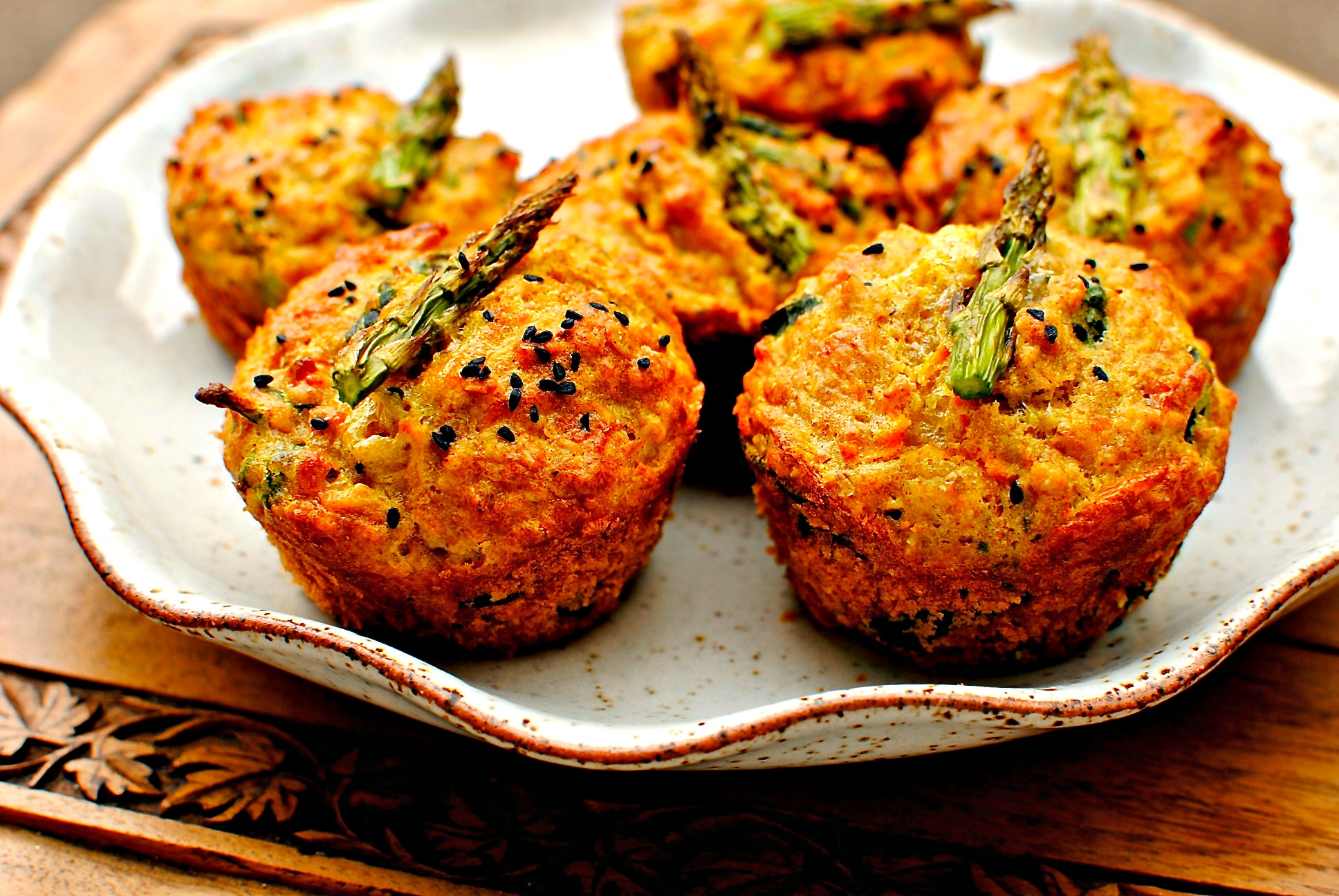 Kitchen Tea Cake Ideas Sunny Spring Vegetable Breakfast Muffins Food To Glow