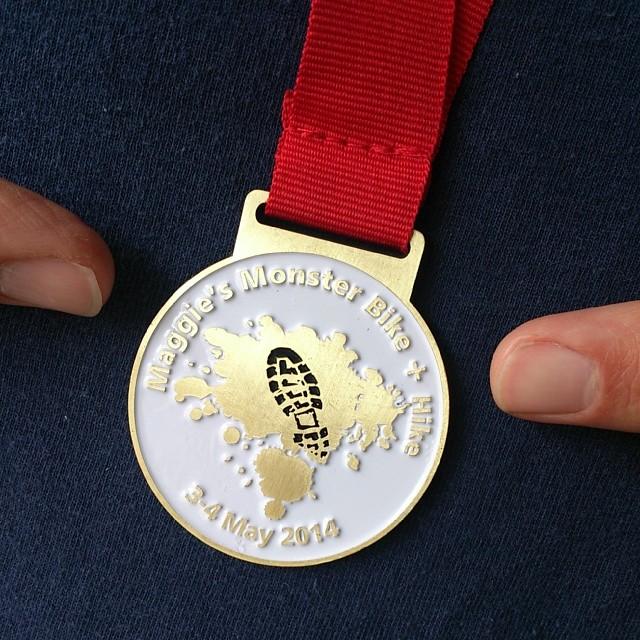 Mr A's gold medal!