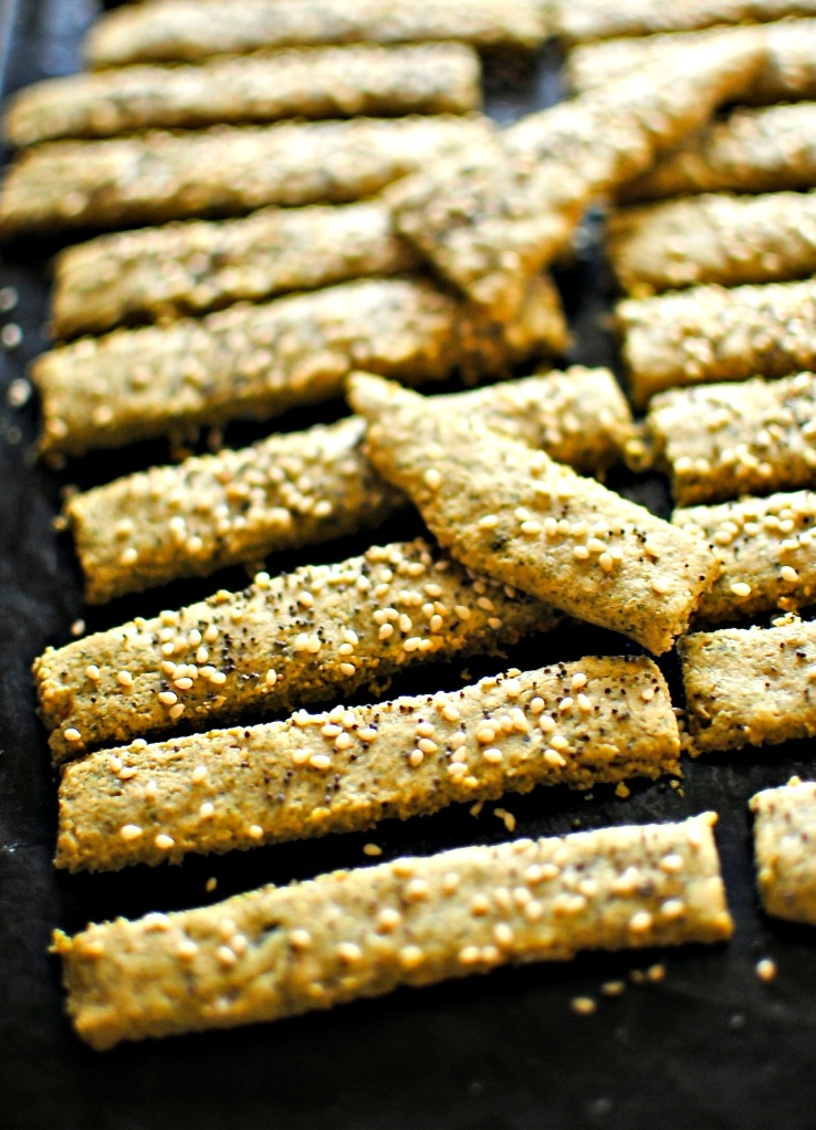 nut and seed crackers