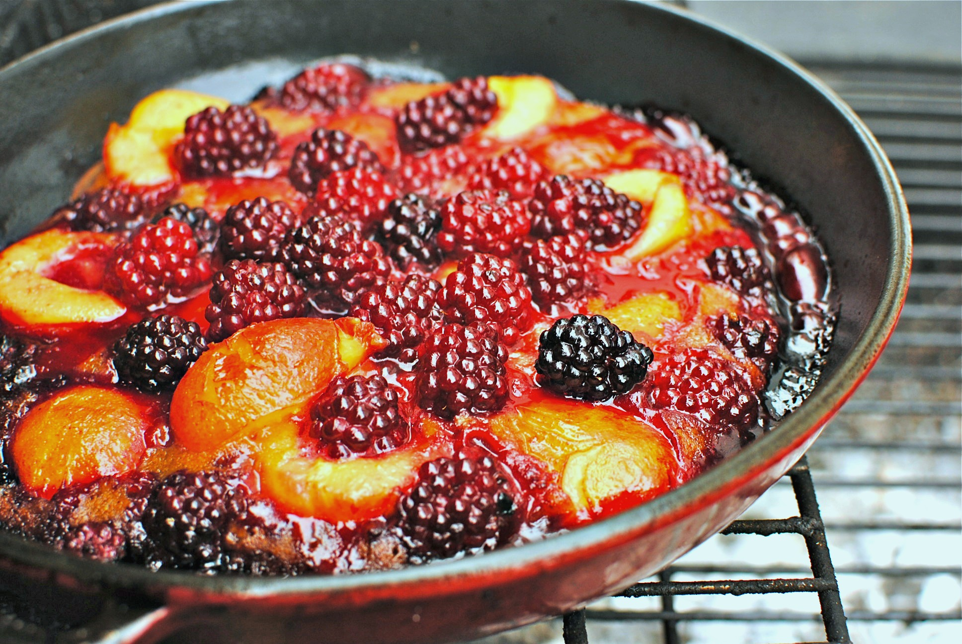 Plum And Berry Cobbler Recipe — Dishmaps