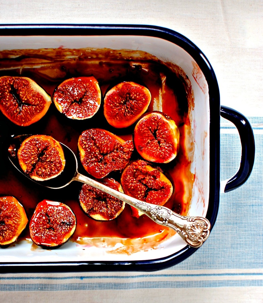 roasted balsamic figs by food to glow