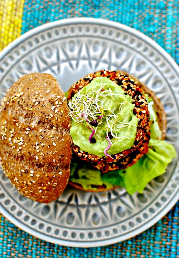 kimchi burger by food to glow