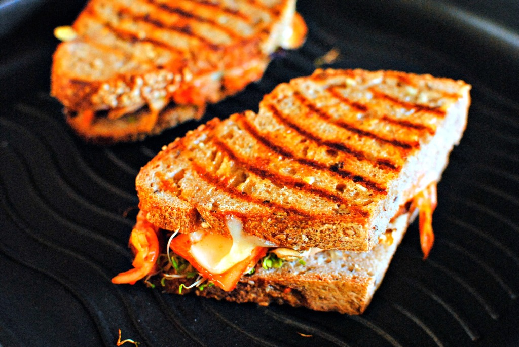 grilled shiitake kimcheese by food to glow