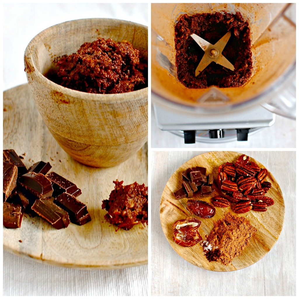 baked chocolate wontons