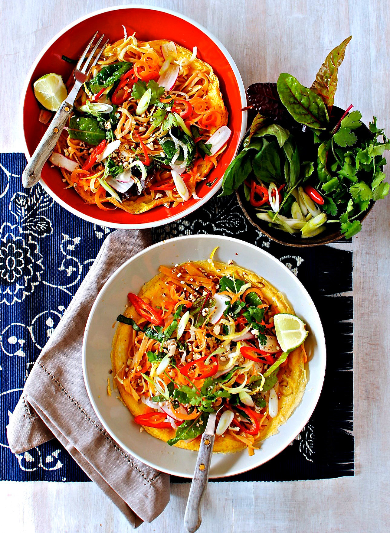 Pad Thai Open-Faced Omelette – A Healthy Reimagining Of A Favourite ...