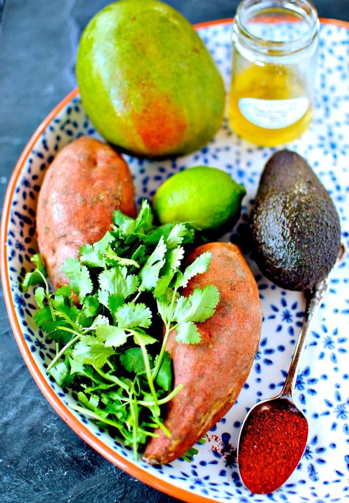 Korean Sweet Potato Wedges // food to glow