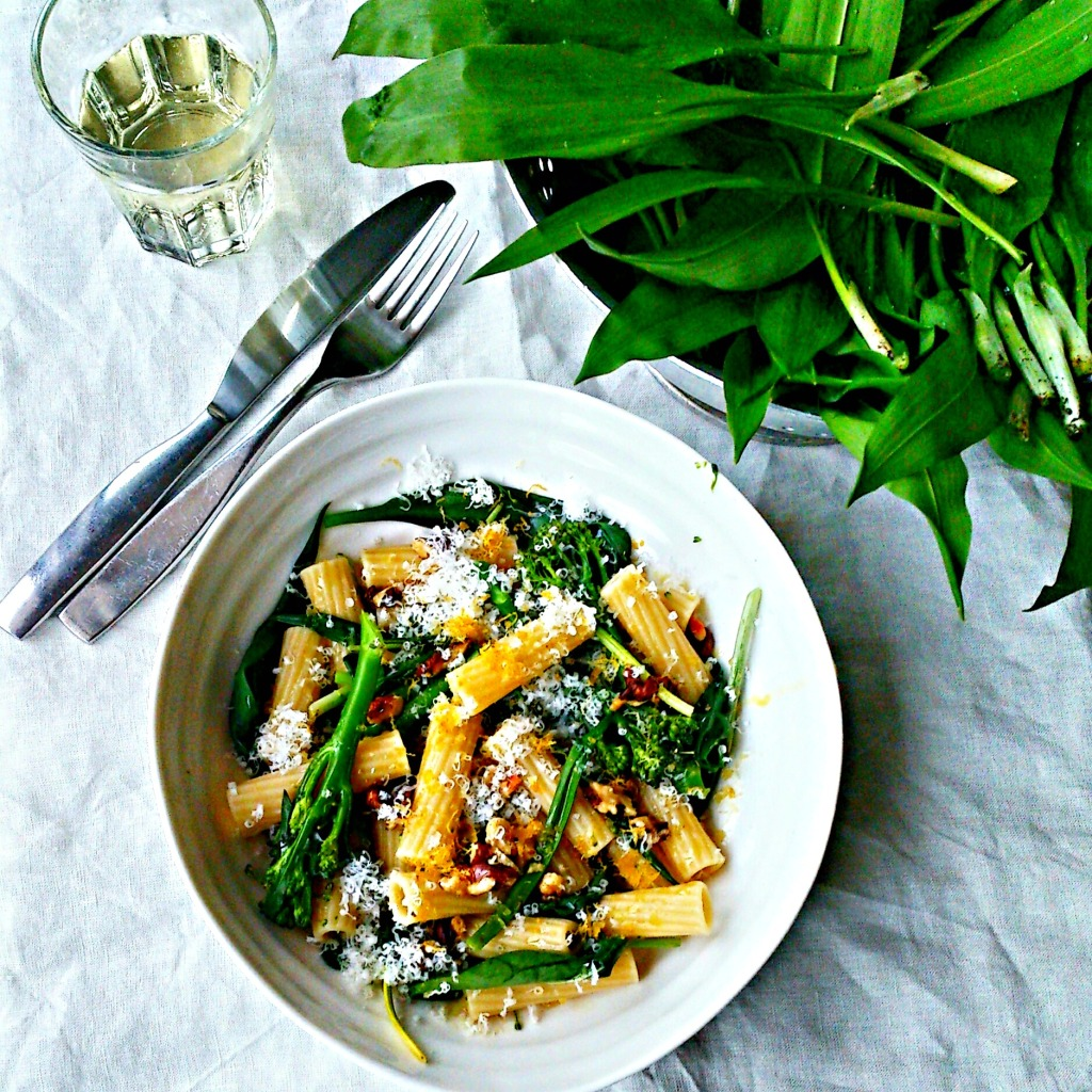 fresh-wild-garlic-pasta by food to glow