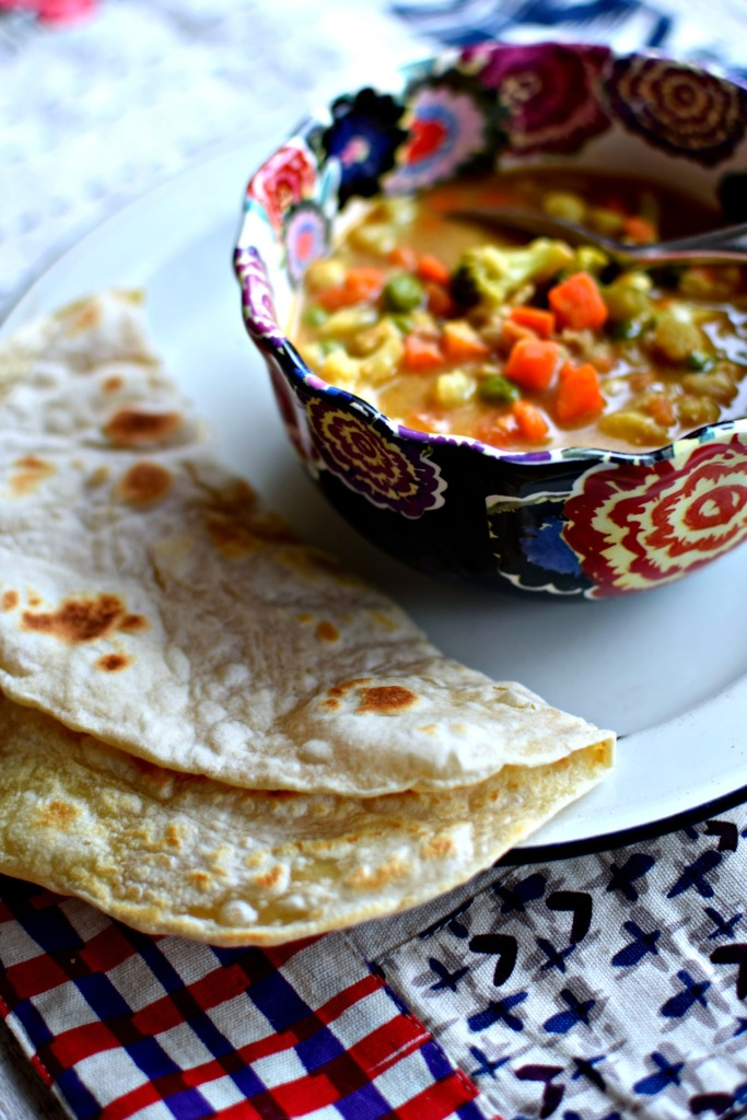 Spicy Peanut Butter Soup, Easy Flatbreads + My #LiveBelowTheLine ...