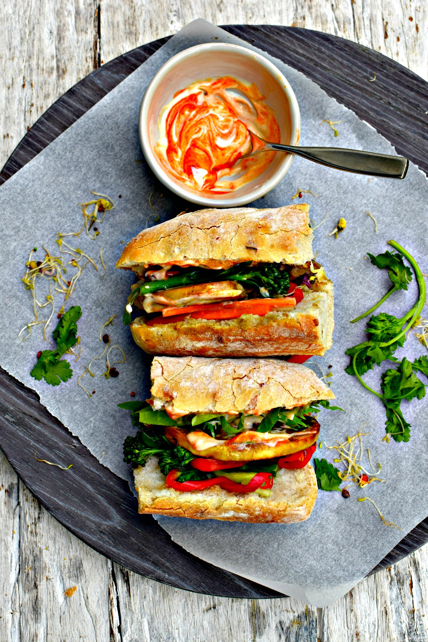 marinated mushroom banh mi // food to glow #sandwich #vitetnamesefood ...