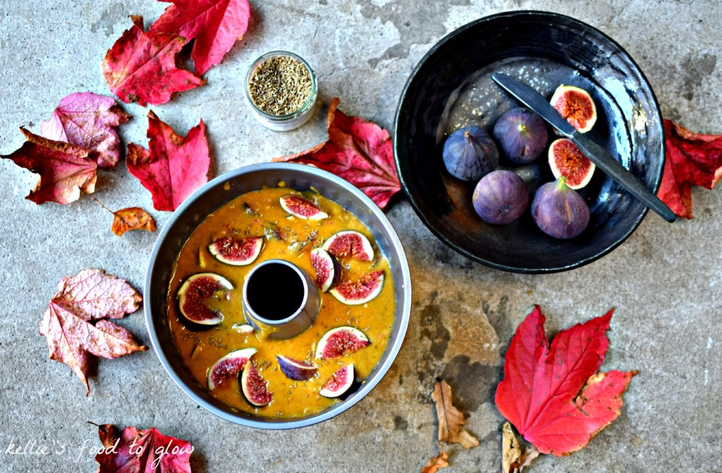 Fig & Walnut Polenta Cake Recipe