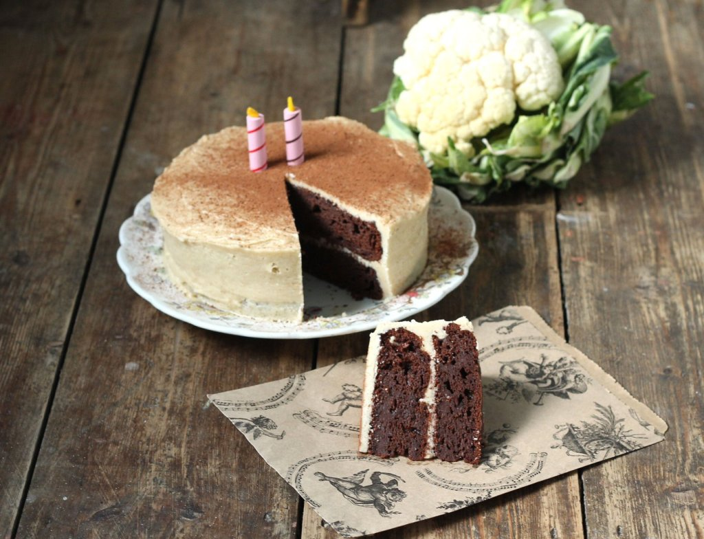 Chocolate Cauliflower Cake by Veggie Desserts