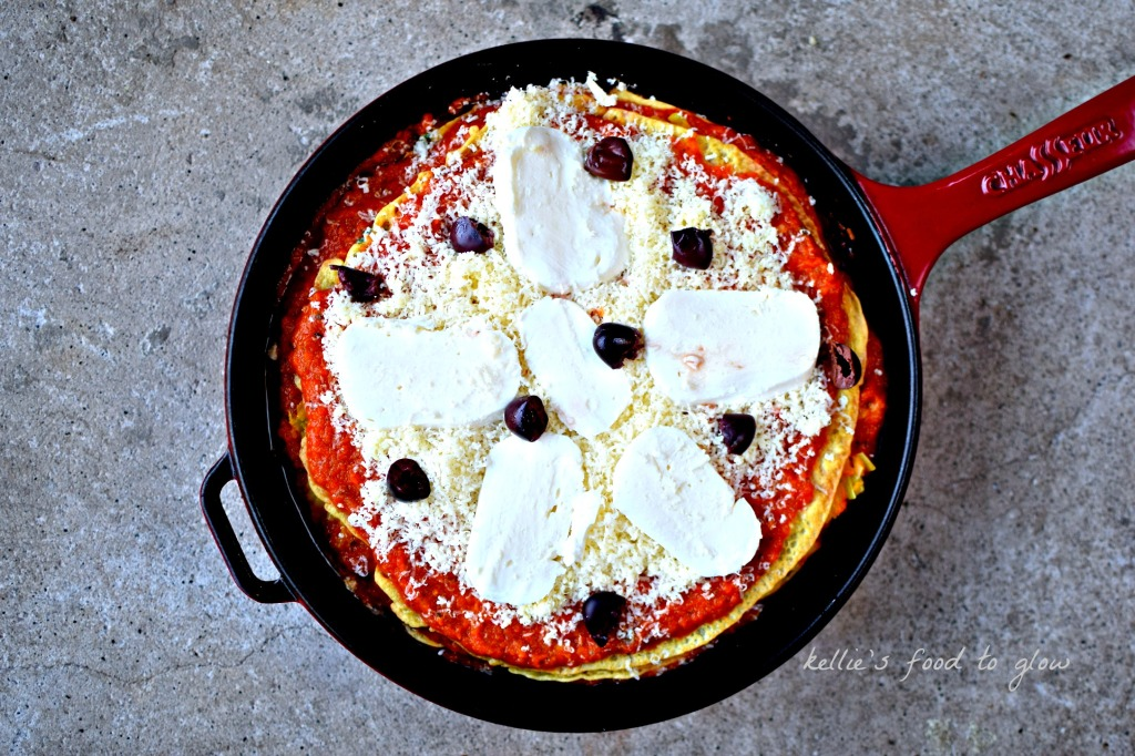 making farinata lasagne