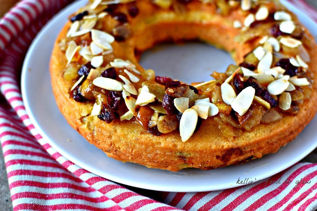 Pear, Almond and Mincemeat Polenta Cake Recipe (gluten ...