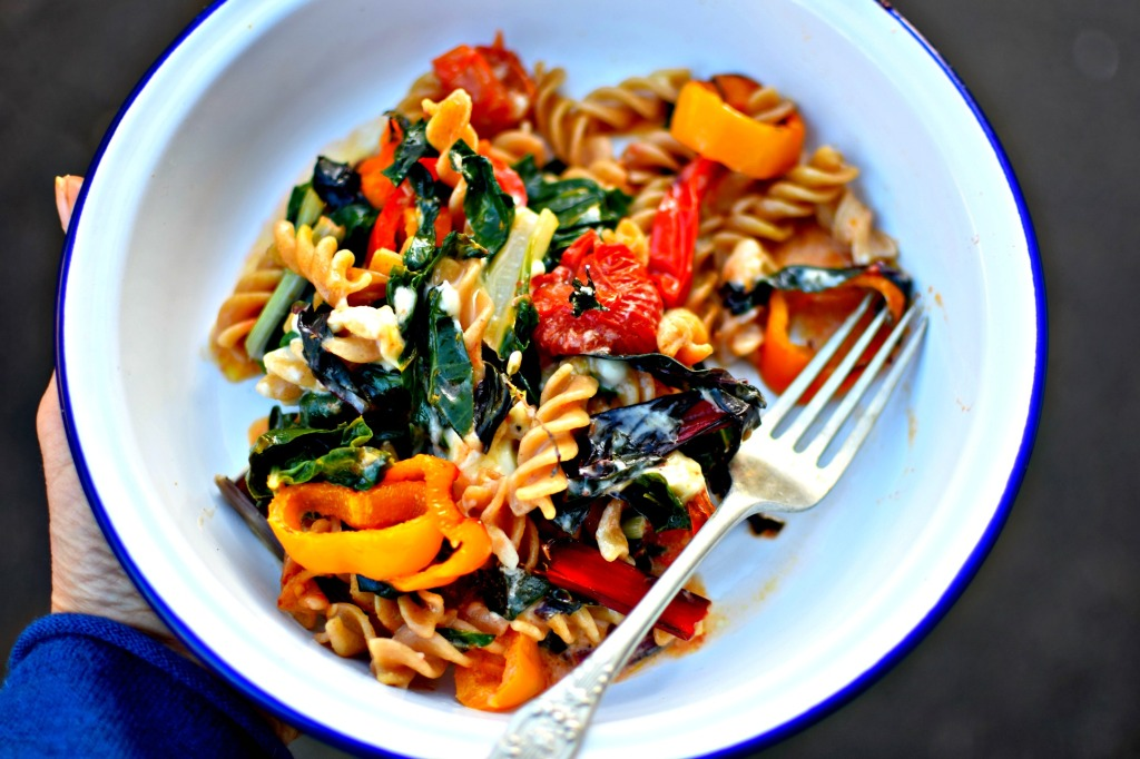 Self-Saucing Cheese & Roasted Vegetable Pasta Bake – A ...