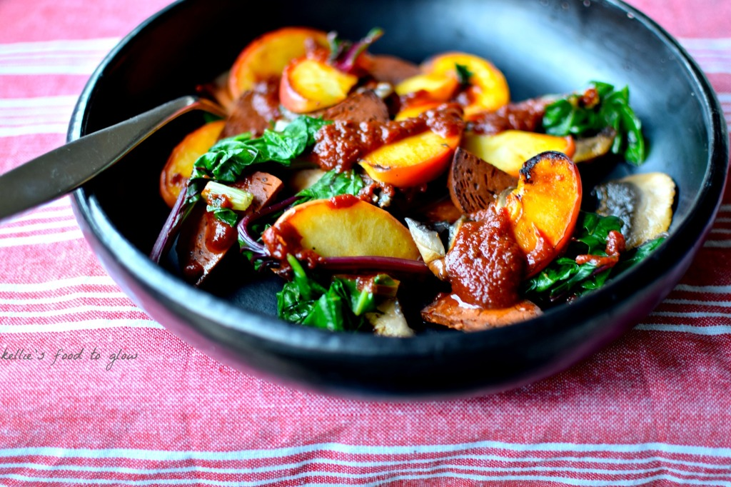 'Chorizo', Apple & Chard Spicy Skillet Supper – A ...