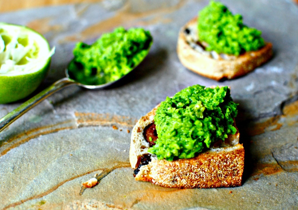 Pea and Coriander Dip