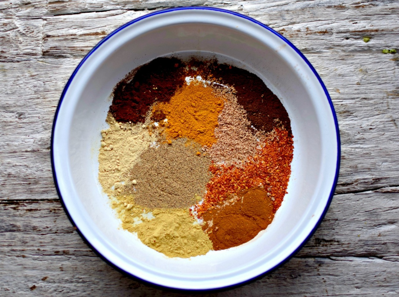Berbere spices for Mesir Wat