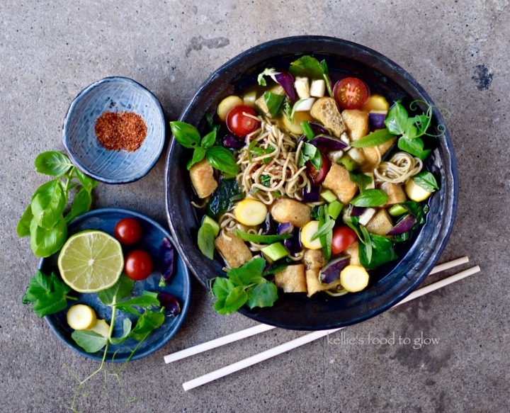 Easy Vegetarian Pho Recipe with Rich 30-Minute Broth — food to glow