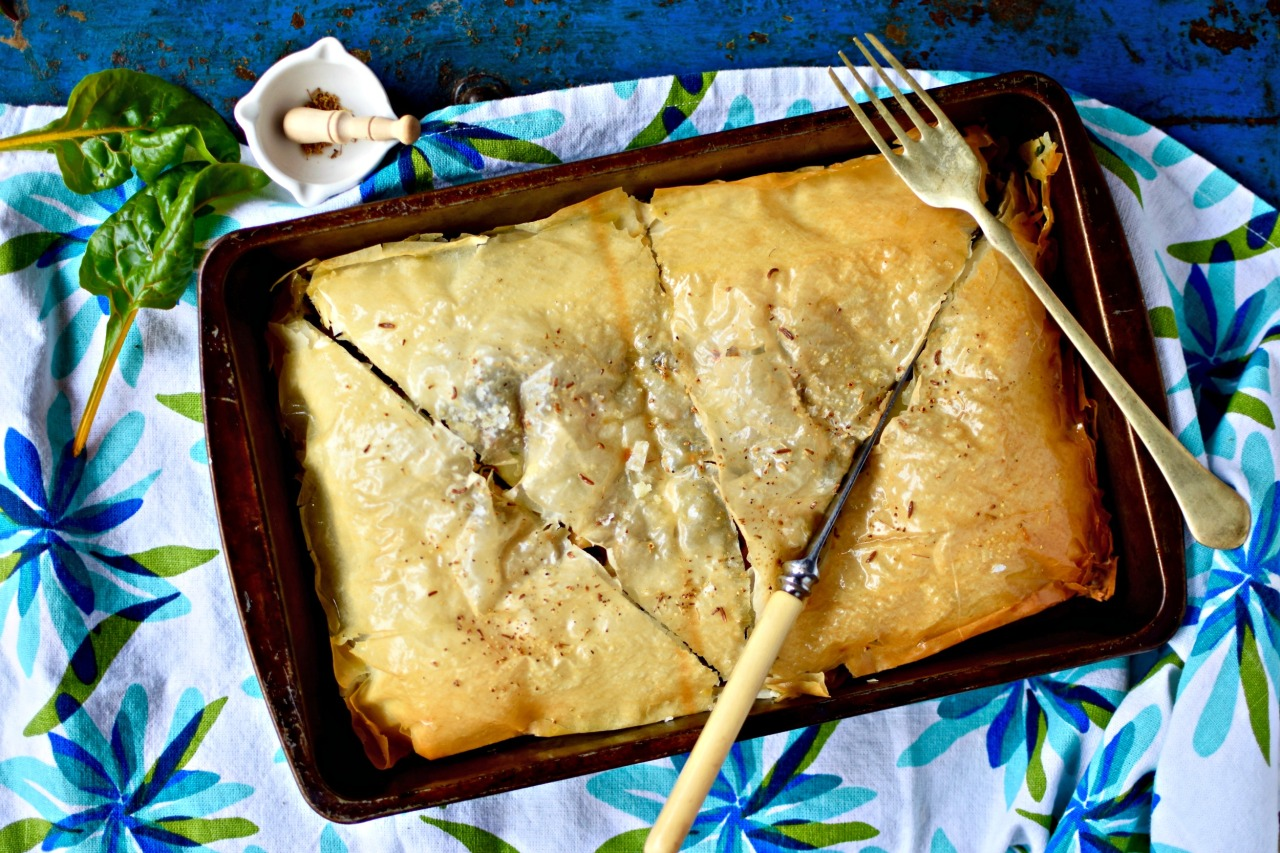 chard pie 1